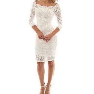 Beautiful white dress 💍✨👰💅🏻👑